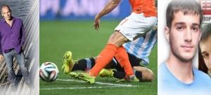 World Cup 2014 - Semi final - Netherlands vs Argentina